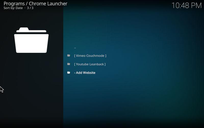 Default Chrome Launchers