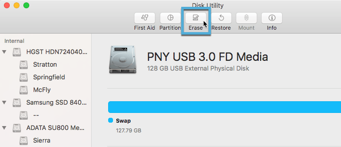 create-linux-live-usb-macos-disk-utility-select-erase-drive