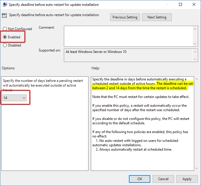 win10-auto-restart-schedule-enable-policy