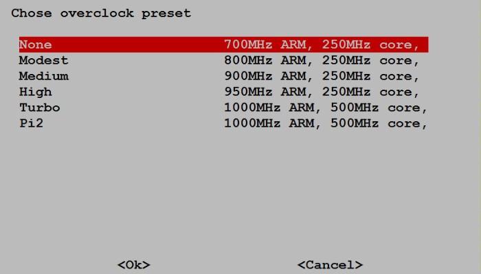 rpi-overclock-preset