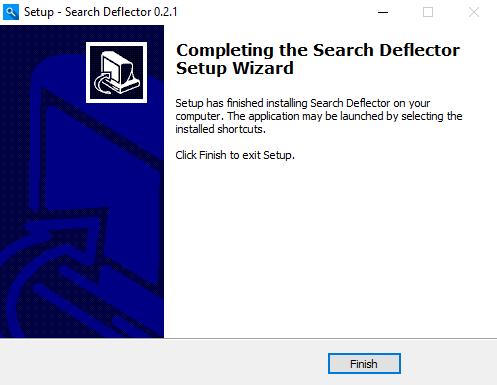 search-deflector-finish-installation