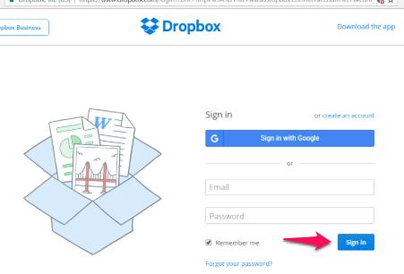 dropbox-using-the-website