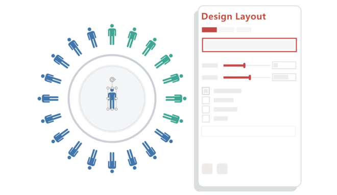 iSlide design layout