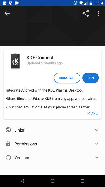 Install KDE Connect on Android