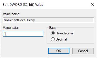 recent-items-win10-value-data
