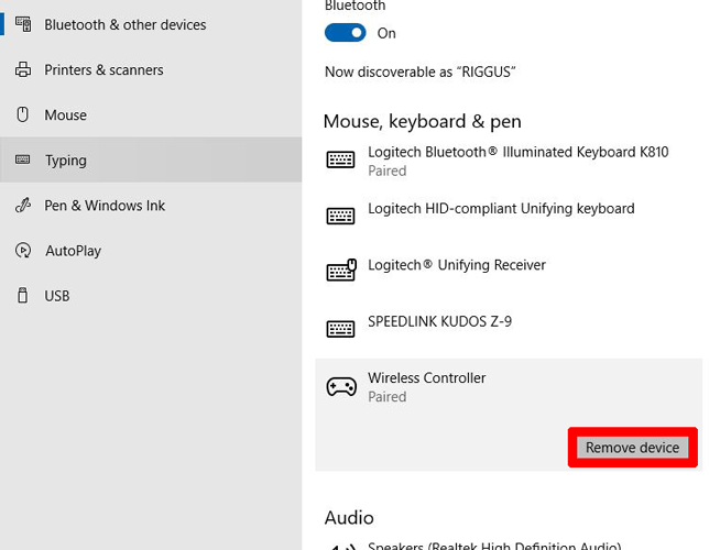 how to connect bluetooth device to windows 10