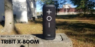 Tribit X-Boom: A Bluetooth Speaker With Bass You Can See & Feel