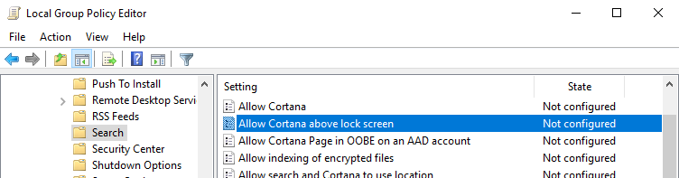 win10-disable-cortana-on-lockscreen-open-policy